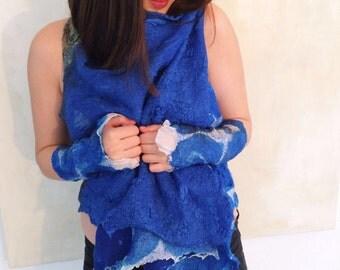 Nunofilzweste silk/Merino