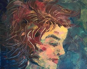 Woman's Profile Portrait