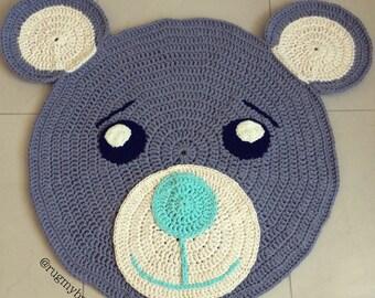 Cute Bear Rug