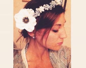 Boho Handmade Flower Crown