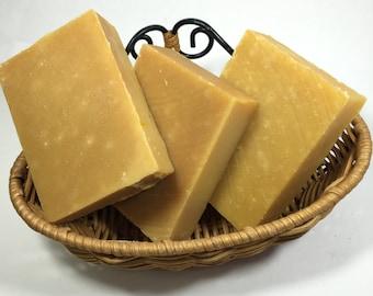Handmade Buttermilk Carrot Baby Soap