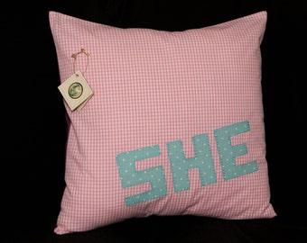 SHE cover decorative