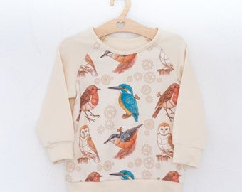 "Sweatshirt ""Bird"""