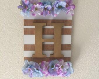 Personalized Initial Door Hanger