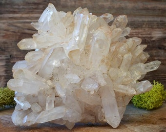 Crystal Quartz Cluster ~ 1224.34
