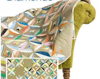 Chic Diamonds pattern by Sew Kind Of Wonderful, save 15% when you buy 3 or more patterns with coupon code below,