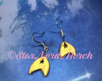 Star Trek Insignia Dangle Earrings