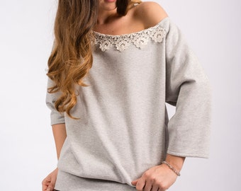 Lacy sweater