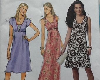 Butterick 5642 Dress / Maxi Dress Sewing Pattern 14-22