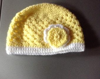 Pretty yellow girl Hat