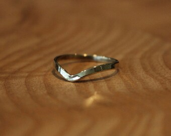 Plain Brass Arrow Ring, great for stacking.