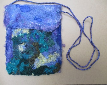 Hand crafted art bag