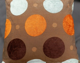"Polka Dot Decorative Pillow 18"" X 18"""