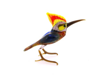 Handmade glass figurines Birds (Big size)