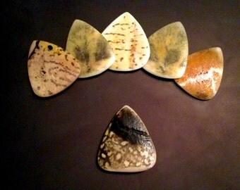 Real Turtle/Tortoise Shell Guitar Pick
