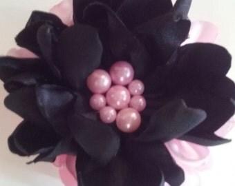Silk flower hair clip!