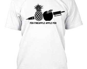 PPAP Pen Pineapple Apple Pen Custom T-Shirt