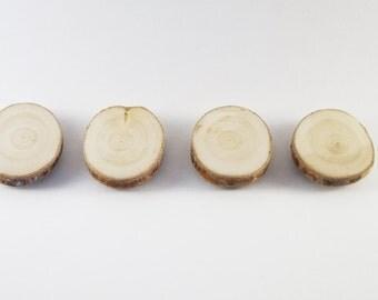 Wood magnets 4 set