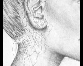 Breath of Life - Graphite- 9x5