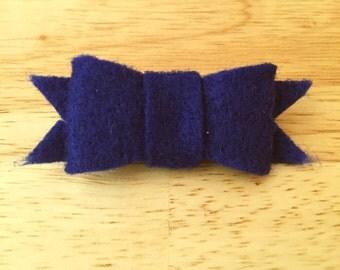 Felt Hair Bows. Kids hair bows. Clip. Headband. Bow