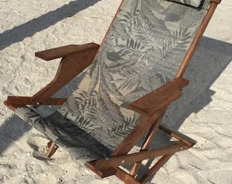 Dingmans Deck Chairs handmade rocking/folding