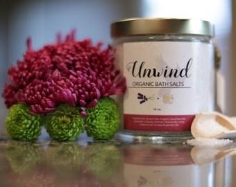 Unwind Organic Bath Salts