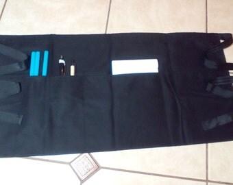 Black work apron