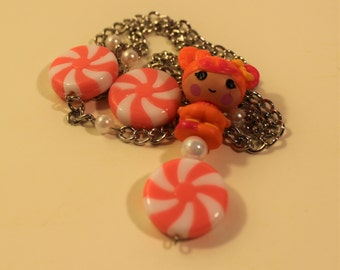 Candy lalaloopsy necklace