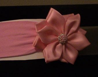 pink soft headband