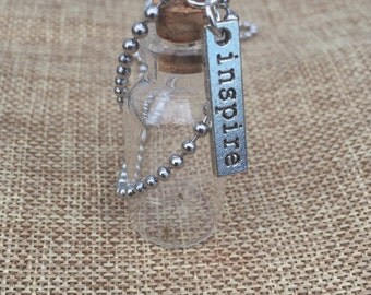 Dandelion Seed Necklace