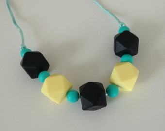 When life gives you lemons Teething Necklace