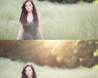 60 Sun overlays, Natural light overlays,Natural Sun Light Photoshop Overlays