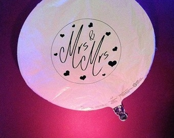 Mrs and Mrs Balloons