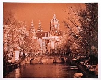 Amsterdam 8 x 10 print
