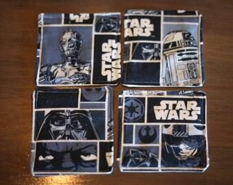 Fabric Coasters- Star Wars