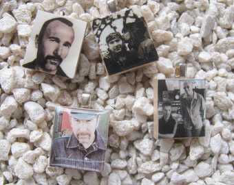 U2 Fangirl Scrabble Tile Charms