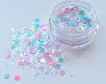 Candy Kiss Face Glitter