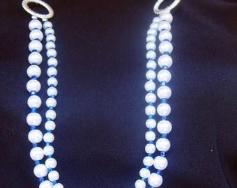 White Swarovski Pearl Bridal PArty gift set