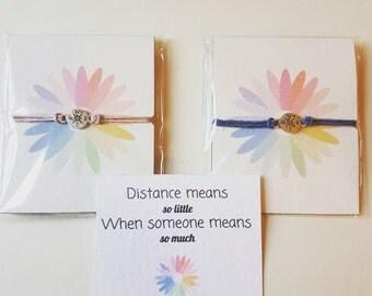 Friendship bracelets, Couples bracelet, Wanderlust bracelet, Wanderlust gift,  Wanderlust, Compass Bracelet, Compass Charm, Twin pack