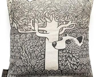 A Fox Cushion