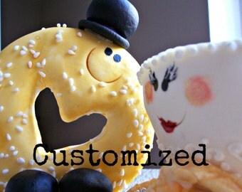 Custom Fondant Cake Topper, Gumpaste Figures, Edible Cake Topper, Fondant Figures, Gumpaste Cake Topper, Fondant Cupcake Toppers, Cake Decor