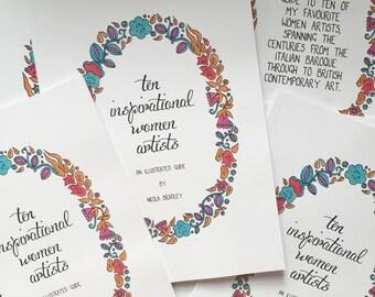Ten Inspirational Women Artists Book