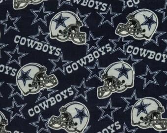 NFL Dallas Cowboys Fleece V5 Fabric by the yard