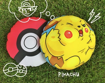 Pikachu Pokemon Pokeball Pillow Pokemon Go