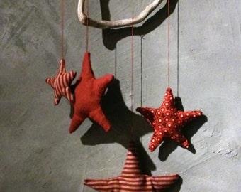 Suspension fabric stars