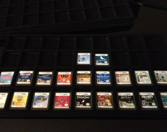 Nintendo DS / 3DS Display Tray (Case Inserts) (Holds 36 Games) NEW