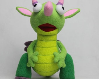 Soft Plush Toy Just Like Draco from Baby TV 25cm in Height BRAND NEW