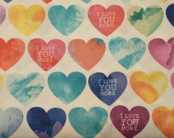 I Love You More Heart Bandana