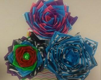 Floral Ink Pens & Base