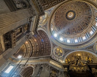 Basilica Sun Beams